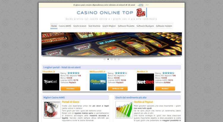 casino online top I casino legali su internet
