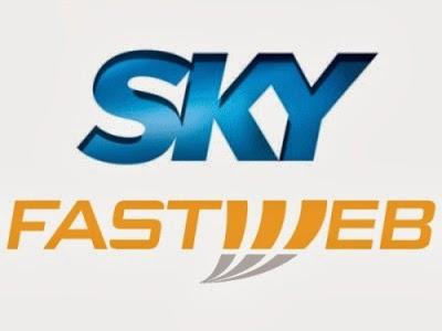 L'accordo tra Sky e Fastweb