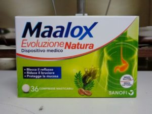 reflusso gastroesofageo Maalox Natura