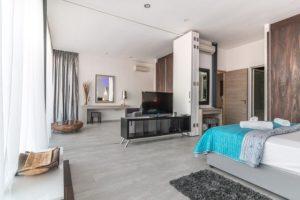 villa camera da letto