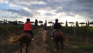 passegiate a cavallo